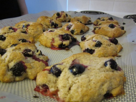 Blueberry & Lemon Scones