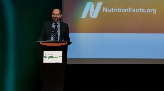Dr Greger LIVE at Algonquin Commons Theatre | 'How Not To Diet'